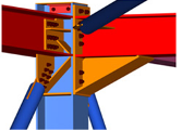 Column, Beam & Bracing connection