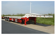 Lower flatbed low bed