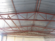 Warehouse Truss and Metal Canopy