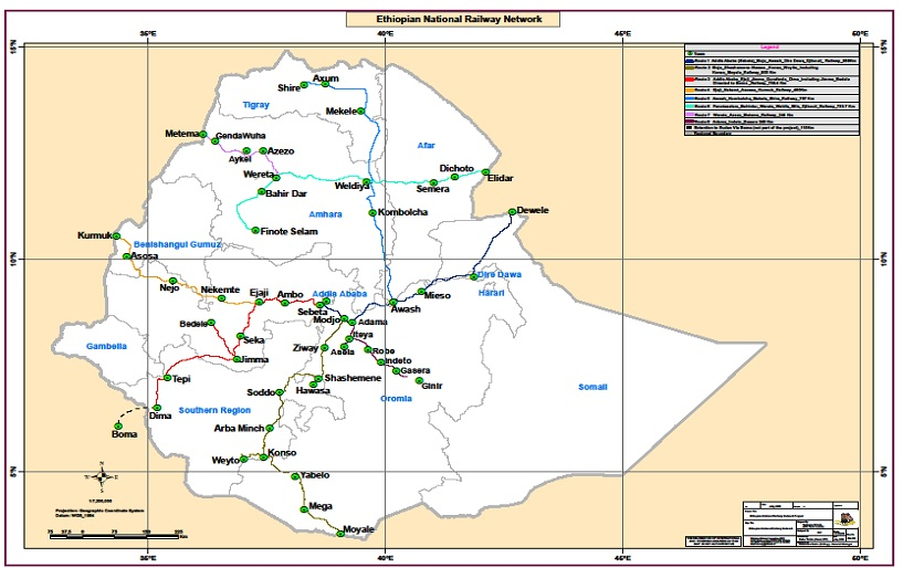 The National Railway Network of Ethiopia (NRNE