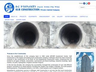 Sur Construction P L C  | ethioconstruction net